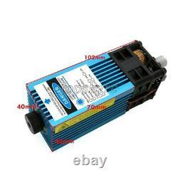 5.5w 445nm Blue Laser Module Laser Gravure Et La Découpe 3 MM 5500mw Ttl Module