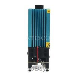 5.5w 450nm Blue Laser Module De Gravure Laser Et Découpe Ttl Module De De Xs
