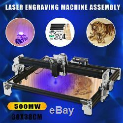 500mw 30x38cm A3 Bricolag Laser Engraver Machine De Gravure Cnc Découpe D'imprimante