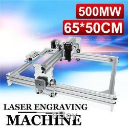 500mw 6550cm Laser Desktop Gravure Graveuse Machine De Découpe Photo Printer