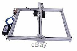 500mw Cnc Laser Kit Bois Graveuse Carve Machine Cut Imprimante Logo Photo 40x50
