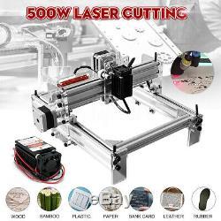 500mw Mini Découpe Laser Machine De Gravure Imprimante Kit De Bureau De Bricolage Nouveau