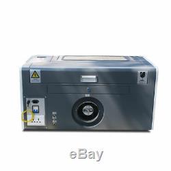 50w Co2 Gravure Au Laser Et Machine De Découpage 300mm500mm Usb Avec Le Rotary