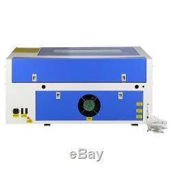 50w Co2 Gravure Au Laser Machine De Découpe Cutter 220 V Graveuse 300mmx500mm Usb
