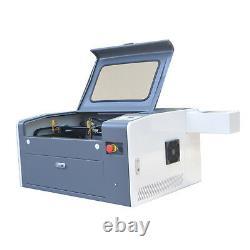 50w Co2 Laser Gravure Machine De Coupe 500300mm Avec Motorisé De Haut En Bas