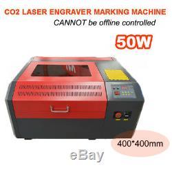 50w Co2 Laser Logo De Coupe Graveuse Marquage Bureau De La Machine De Gravure