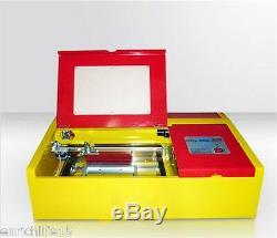 50w Laser Engraver Machine De Gravure De Coupe De Coupe 300200 Table De Travail