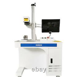 50w Raycus Fiber Laser Marking Machine Metal Cut Mark Gravure Cnc Steel Diy