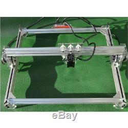50x65cm 3000mw Zone Mini Machine De Gravure Laser De Découpe De Bureau Kit D'imprimante