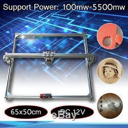 50x65cm Zone Mini Gravure Au Laser Découpe Machine Graveuse Kit D'imprimante
