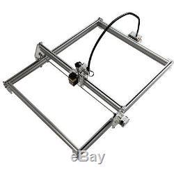 5500mw Bureau Cnc Laser Engraver Bois De Coupe Marquage 50x65cm Kit Bricolage Machine