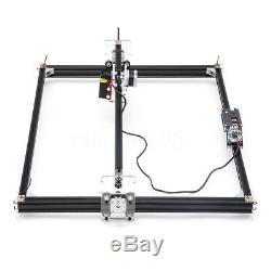 5500mw Bureau De Gravure Laser De Découpe Cnc Carver Graveuse Bricolage 42h34s Imprimante