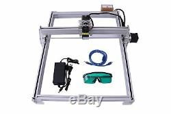5500mw Cnc Laser Kit Bois Graveuse Carve Machine Cut Imprimante Logo Photo 40x50