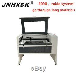 6090 Ruida Co2 3d Machine De Gravure De Découpe Laser 100w Papier De Verre De Contre-plaqué De Bois