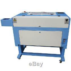 60w Co2 500x300mm Mini Laser Engraver Gravure Au Laser De Coupe Cutter Chiller Usb