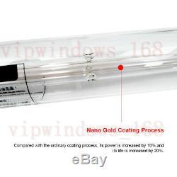 60w Co2 Laser Engraver Verre Tube D55mm Pour Co2 Machine De Gravure Laser De Découpe