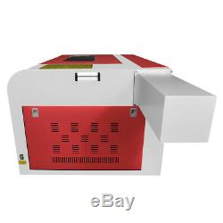 60w Co2 Laser Machine De Gravure Laser Bois Graveuse Broyeur Usb 220 V