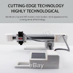 7000mw Usb 7w Machine De Gravure Laser De Découpe Logo Bricolage Mark Imprimante Graveuse