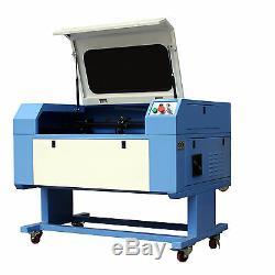 700x500mm 50w Co2 Gravure Au Laser Machine De Découpe Cutter Graveuse Stand