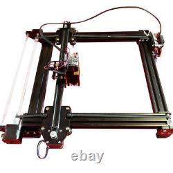 7w A Axe Métallique Cylindrique Gravez Cad Gravure Au Laser Découpe Imprimante Machine