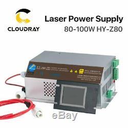 80-100w Co2 Laser Alimentation 110v 220 V Écran LCD Gravure Au Laser Découpe