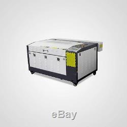 80w Co2 Gravure Au Laser Et La Machine De Découpage Avec Corellaser Motorisé Tableau 16''x24