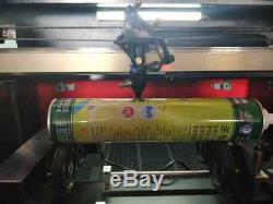 80w Co2 Hq7050 Acrylique Gravure Au Laser Machine De Découpe Cutter Graveuse / 700500mm