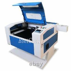 80w Co2 Machine De Gravure Et De Découpe Laser 28'' X 20'' Moteur Z Cw-3000 Refroidisseur