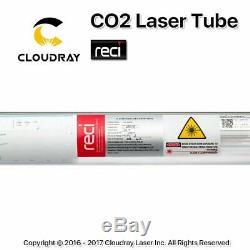 90-100w Reci W2 Co2 Laser Tube En Verre Pour L'eau De Refroidissement De Coupe Machine De Gravure