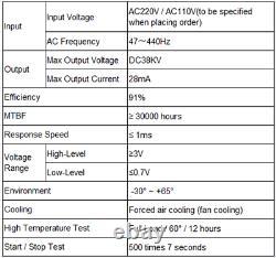 Alimentation Laser Mcwlaser Myjg 80w Co2 Pour Graveur 110v/220v