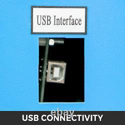 Amélioré 40w Co2 Laser Graveur Cutting Machine Crafts Cutter Usb Interface