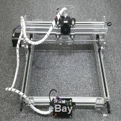 Bricolage Desktopwood Gravure Au Laser Etcher Machine 500mw Mark Logo Imprimer Cut 3040cm