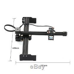 Bx-20w Usb Gravure Au Laser Machine De Découpe Cnc Bricolage Graveuse Mark Imprimante N9x5