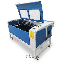Chaud! 80w Ruida Co2 Machine De Découpe Laser Et De Gravure 1000600mm Avec Moteur
