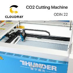Cloudray 30w Air Cooled Thunder Co2 Machine De Gravure Laser De Coupe