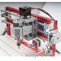 Cnc 3018 Gravure Routeur & 5,5w Laser Head Carving Milling Machine De Découpe De Bricolage Au