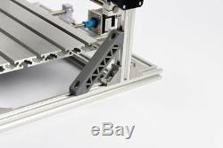 Cnc 3018 Gravure Routeur & 7w Module Laser À Découper La Machine De Coupe De Fraisage Bricolage