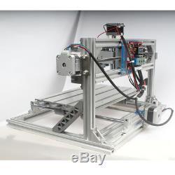 Cnc 3018 Router Gravure Sculpture De Fraisage Coupe Bricolage Machine Et 5.5w Module Laser