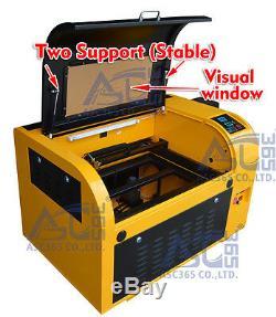 Co2 60w Gravure Au Laser Machine De Découpe Machine De Guidage Linéaire Gravure 4060 110v