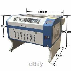 Co2 Découpe Laser Machine De Gravure Laser 60w 600x900mm Coupe Travail Hors Ligne
