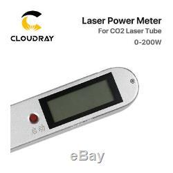 Co2 Handheld Laser Tube Wattmètre 0-200w Pour Machine De Gravure Laser De Découpe