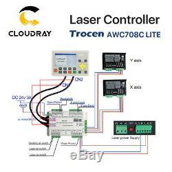 Co2 Laser System Controller Anywells Awc708c Lite Pour La Machine De Gravure De Coupe