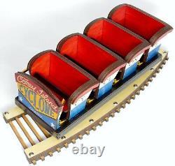 Coney Island Cyclone Roller Coaster Modèle Gravé Au Laser Et Coupe