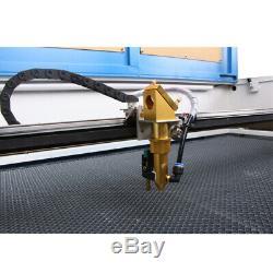 Coupe Laser Co2 1060 Machine De Gravure De Découpe Laser Et 100w 80mm Rotatif Ue Des Navires