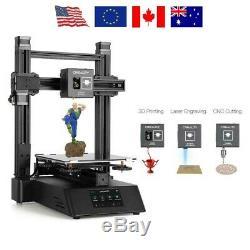 Creality3d Cp-01 3 En 1 Haute Précision Modulaire Imprimante 3d + Gravée Au Laser + Cut Cnc