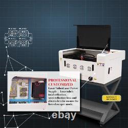 Cutter De Graveur Laser Co2 40w 12×16 Machine De Gravure De Coupe Améliorée Ruida