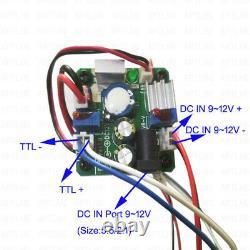 Dc912v 450nm 445nm 5.5w Blue Laser Module Gravure/cutting/marquage Graveur
