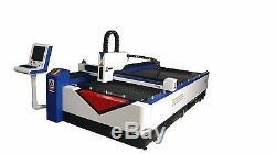Découpe Laser 1000w 1530f Fibre Métal Machine / Fibre Laser Doux Steel Cutter 510