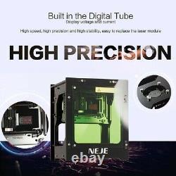 Diy 3000mw Desktop Mini Cnc Laser Graveur Cutter Wood Cutting Router Machine
