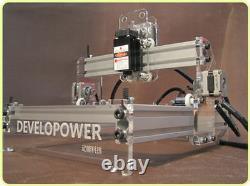 Diy Laser Gravure Machine Graveur Cutter Desktop Cutting Logo Image Marquage